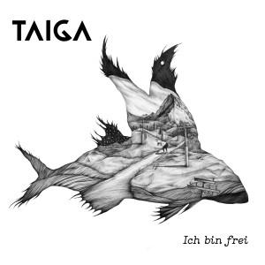 """Das Album-Cover des Debut-Albums """"Ich bin frei"""" der Indieband Taiga"""